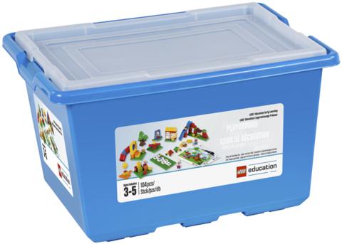 Lego Education Duplo: Детская площадка 45001 — Playground Set with Storage — Лего Образование