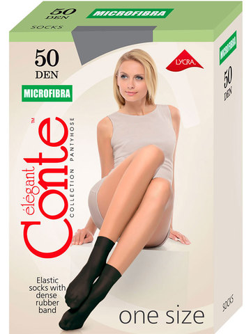 Носки Microfibra 50 Conte
