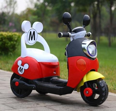 Микки Маус Мотоцикл детский трехколесный