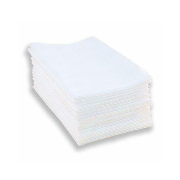 Одноразовые полотенца, салфетки Одноразовые полотенца спанлейс Комфорт белый 45х90см 50шт./уп (поштучно) Полотенце-в-упаковке.jpg