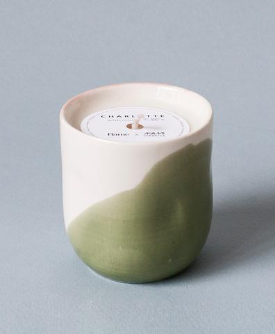 Ароматическая свеча в фарфоре Charlotte