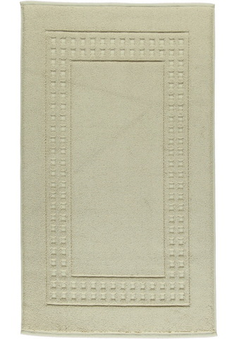 Элитный коврик для ванной Country бежевый от Vossen