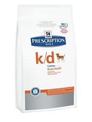 Hill's Prescription Diet K/D Canine Renal Helth dry