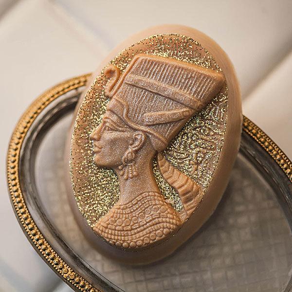 Мыло ручной работы Нефертити. Форма пластиковая