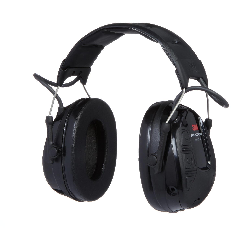 Активные наушники ProTac III Slim, стандартное оголовье, чёрные чашки