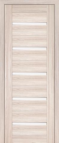 Дверь Profil Doors №7X-Модерн, стекло матовое, цвет капучино мелинга, остекленная