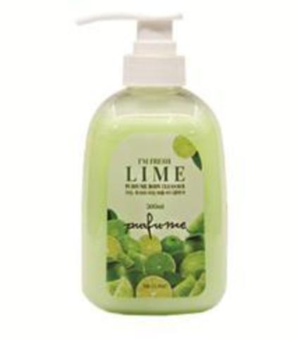 3W CLINIC Гель для душа ЛАЙМ I'm Fresh Lime Purfume Body Cleanser, 500 мл