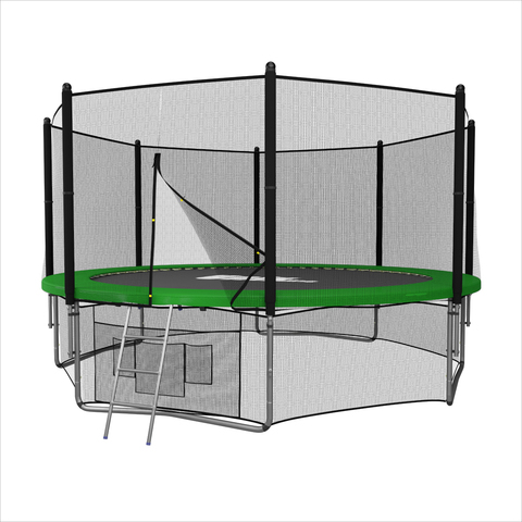 Батут UNIX line outside (Green), 14 ft