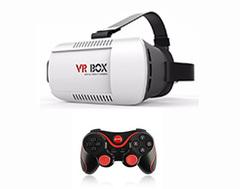 Очки виртуальной реальности Vr Box + Джойстик Terios Home