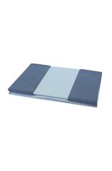 Постельное белье 1.5 спальное Caleffi Bicolor антрацит