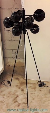replica David Weeks Studio Kopra Burst floor lamp ( black )