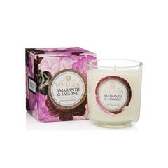 Ароматическая свеча Voluspa Амарант и жасмин в подарочной коробке