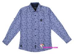 1084 рубашка мелкий цветок
