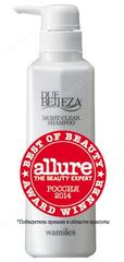 Увлажняющий шампунь (Wamiles | Уход за волосами | Belleza Moist Hair Shampoo), 400 мл.