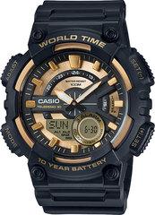 Мужские электронные часы Casio AEQ-110BW-9A