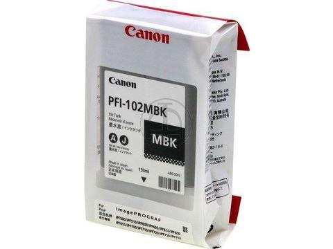 Картридж CANON PFI-102MBK Matte Black для ImagePROGRAF IPF-500/600/700 (0894B001)