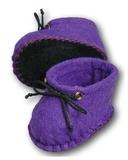 Ботиночки из фетра - Фиолетовый. Одежда для кукол, пупсов и мягких игрушек.