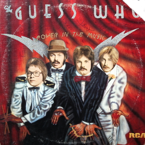 The Guess Who ‎/ Power In The Music (LP)