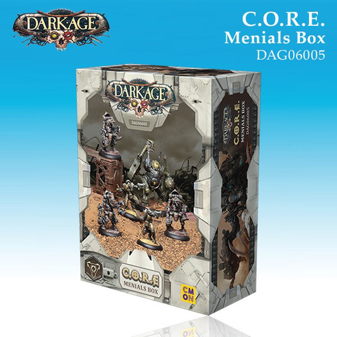 C.O.R.E. The Menials Unit Box (6)