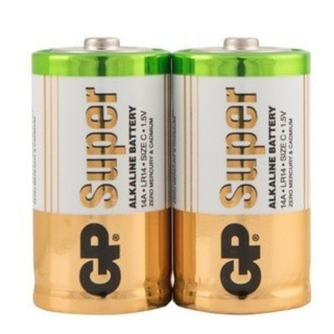 Батарейка алкалиновая GP Batteries Super Alkaline 14А C 2 шт.