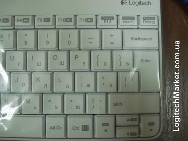LOGITECH MK240 White
