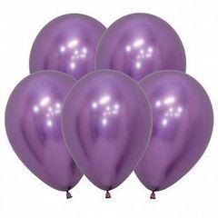 S 12 Рефлекс Фиолетовый, (Зеркальные шары) / Reflex Violet  / 12 шт. /