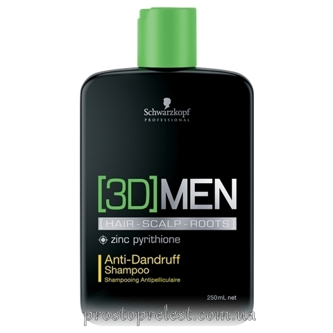 SCHWARZKOPF 3D Mension Anti-Dandruff Shampoo - Шампунь против перхоти