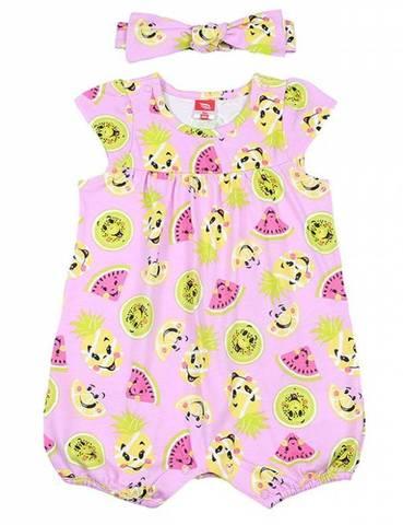 Cherubino Комплект для девочки песочник и повязка CSN9696(171) розовый