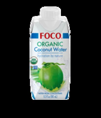 Кокосовая Вода Organic Foco, 330 мл