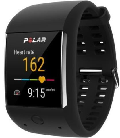 Умные спортивные часы Polar M600 , Black