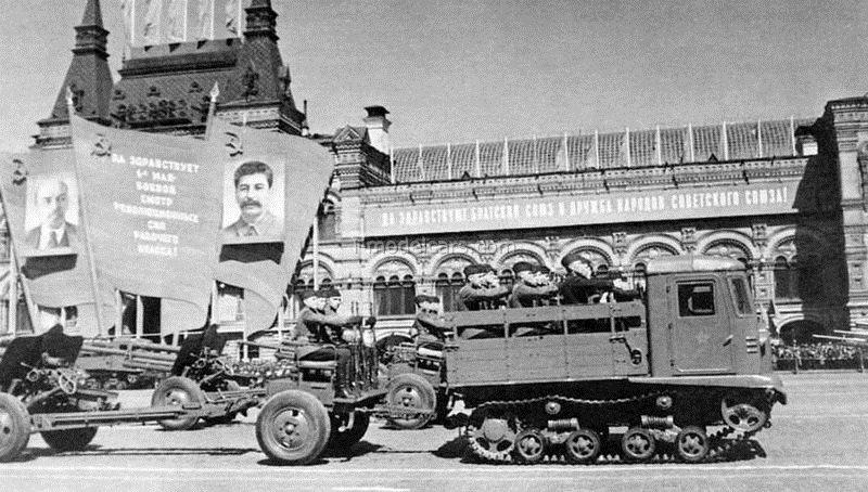 Tractor STZ-5 Stalinets 1:43 Hachette #64