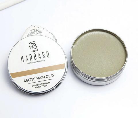 RAZ1021 Матовая глина для укладки волос с сильной фиксацией,
