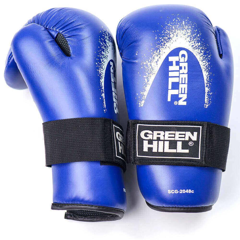 Перчатки/накладки Накладки для карате 7-contact Green Hill 220.jpg