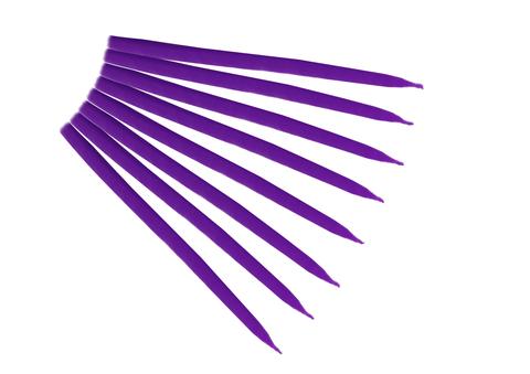 Свеча маканная фиолетовая