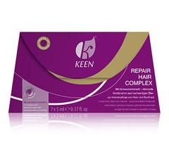 KEEN восстанавливающий комплекс для волос repair hair complex 7 x 5мл