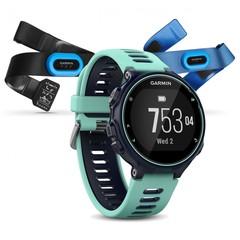 Спортивные смарт часы Garmin Forerunner 735XT 010-01614-10 Синие (HRM-Tri-Swim)