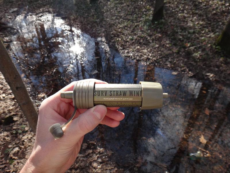 Фильтр для очищения воды SurvStraw Mini