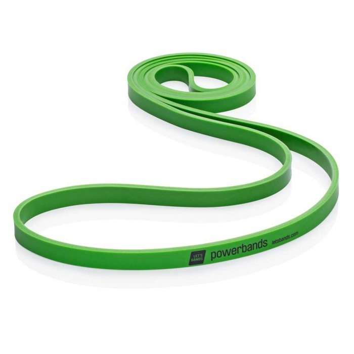 Продукция Let's Bands Эспандер-лента POWERBANDS MAX (среднее сопротивление, зеленый) max-green.jpg