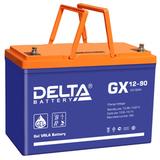 Аккумулятор Delta GX 12-90 ( 12V 90Ah / 12В 90Ач ) - фотография
