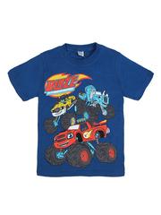 D002-9 футболка для мальчиков, синяя