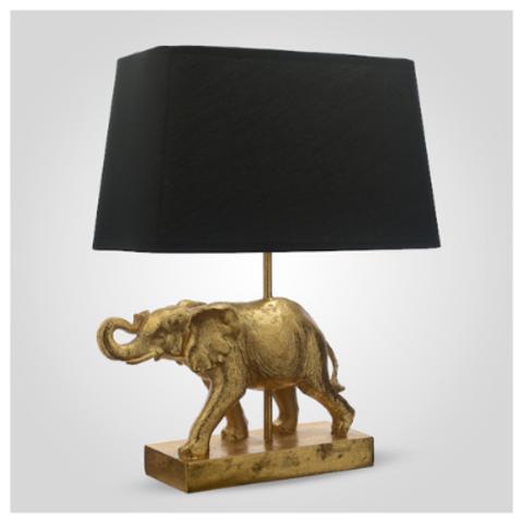 Настольная Лампа золотистая
