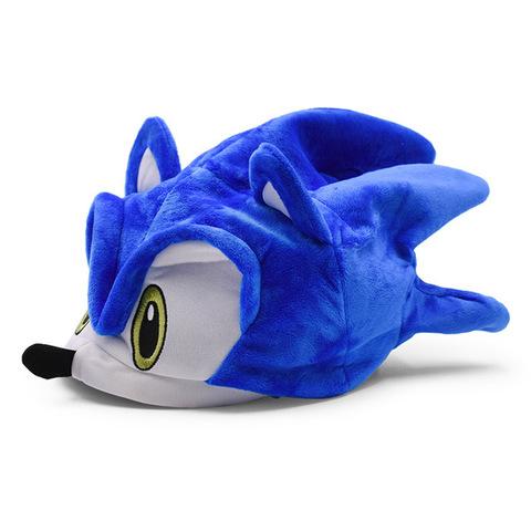 Соник плюшевая шапка