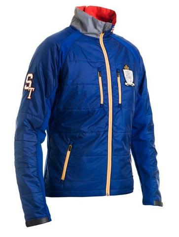 Лыжная Куртка Stoneham Warm up унисекс blue