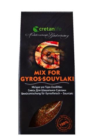 Греческая приправа для гирос и сувлаки CretanLife 50 гр. за 169 рублей.