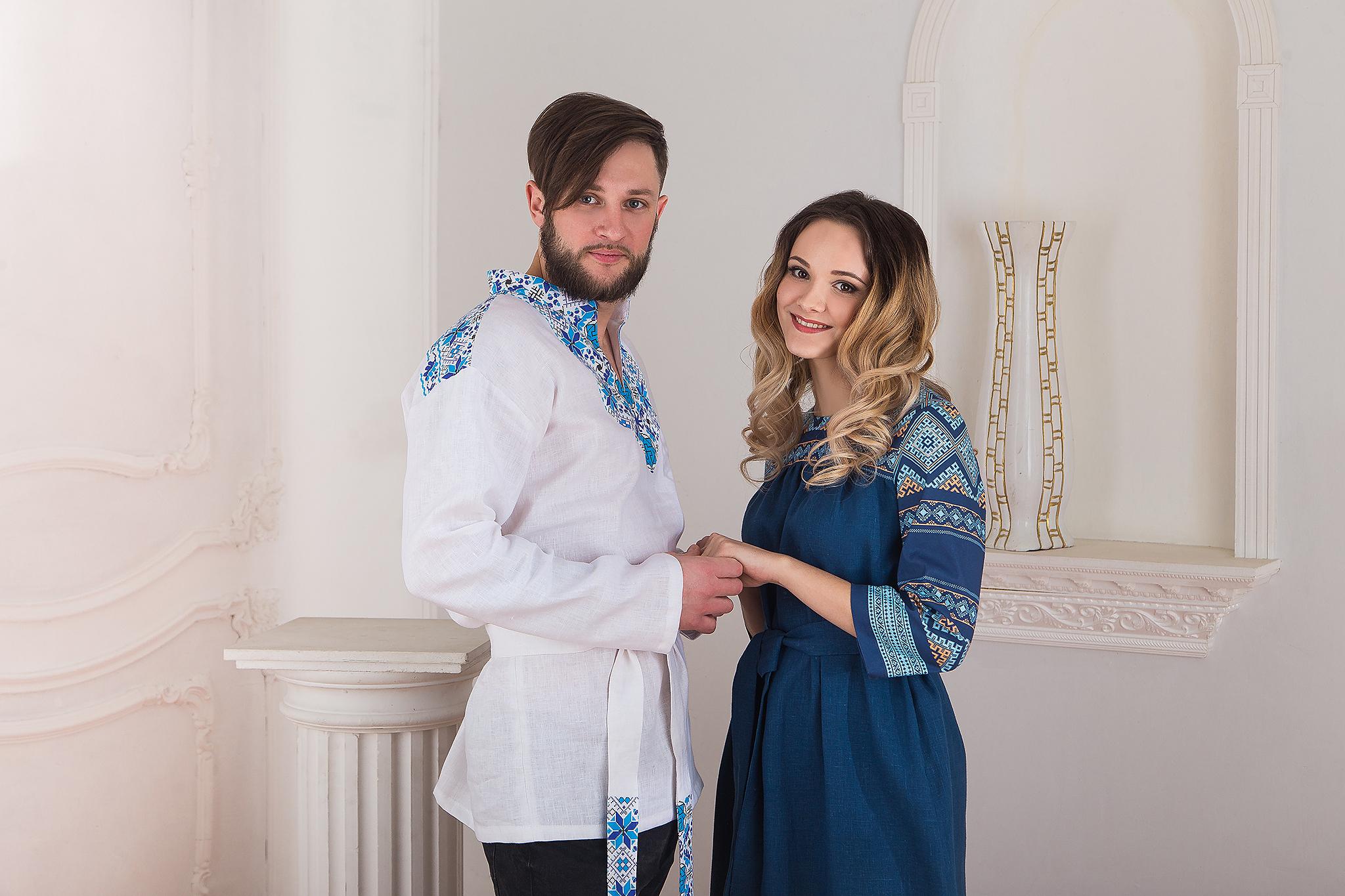 Русская рубаха Северная народный костюм