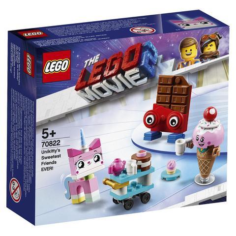 LEGO Movie: Самые лучшие друзья Кисоньки 70822 — Unikitty's Sweetest Friends EVER! — Лего Муви Фильм