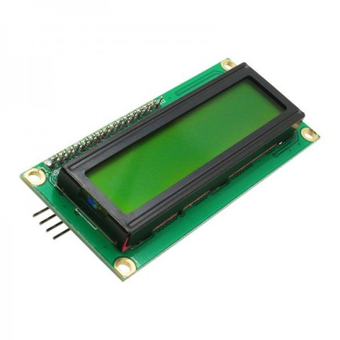 Символьный дисплей LCD1602A с адаптером IIC/I2C