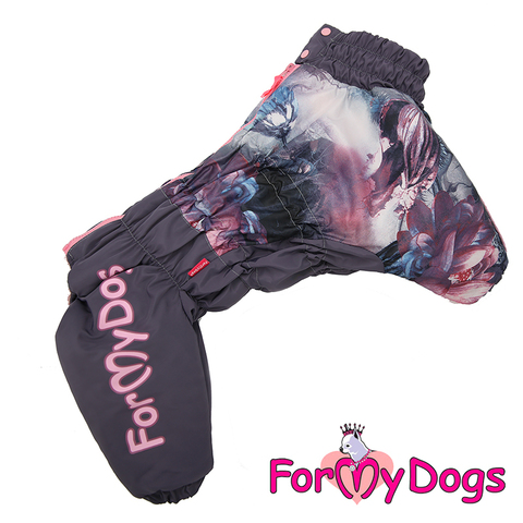 Комбинезон For My Dogs  для девочек FW564/3-2018 F на меху и синтепоне