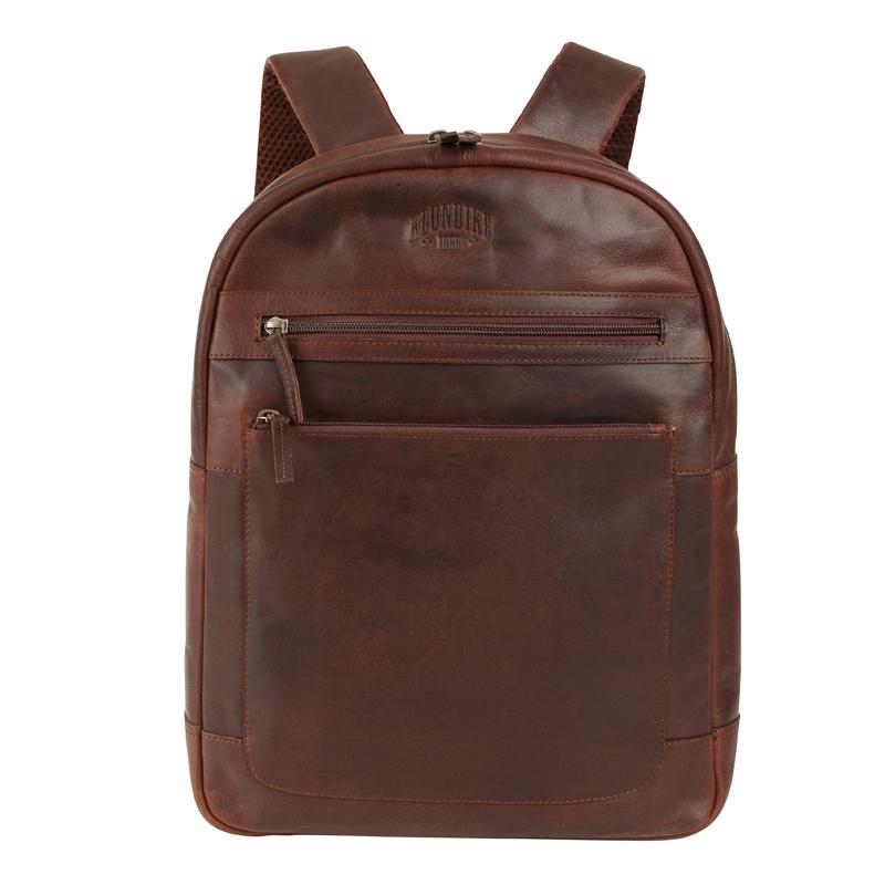 Кожаный рюкзак Klondike 1896 DIGGER «Sade» Brown, Germany