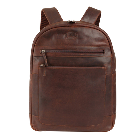 Кожаный рюкзак Klondike 1896 DIGGER «Sade» Brown, Germany, фото 2